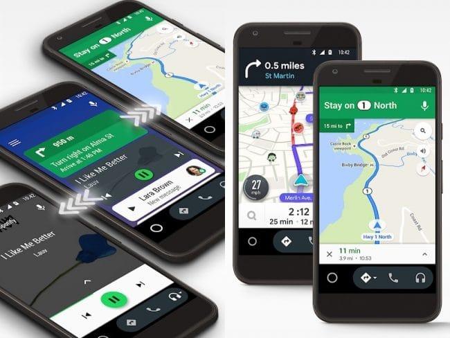 Google prévoit de fermer Android Auto sur les smartphones