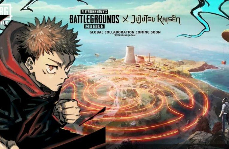 PUBG Mobile et Jujutsu Kaisen se joindront bientôt à un nouveau crossover