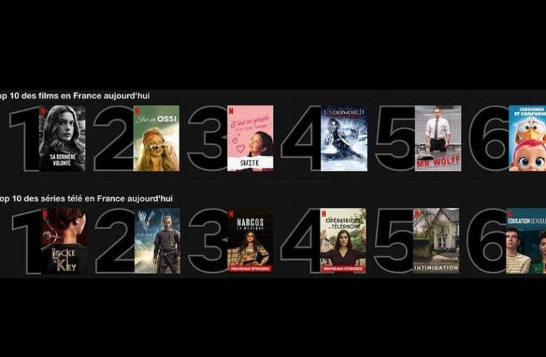 TOP 10 DES SÉRIES de cette semaine sur Netflix