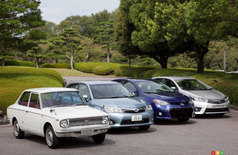 Toyota Corolla vend 50 millions d'unités dans le monde